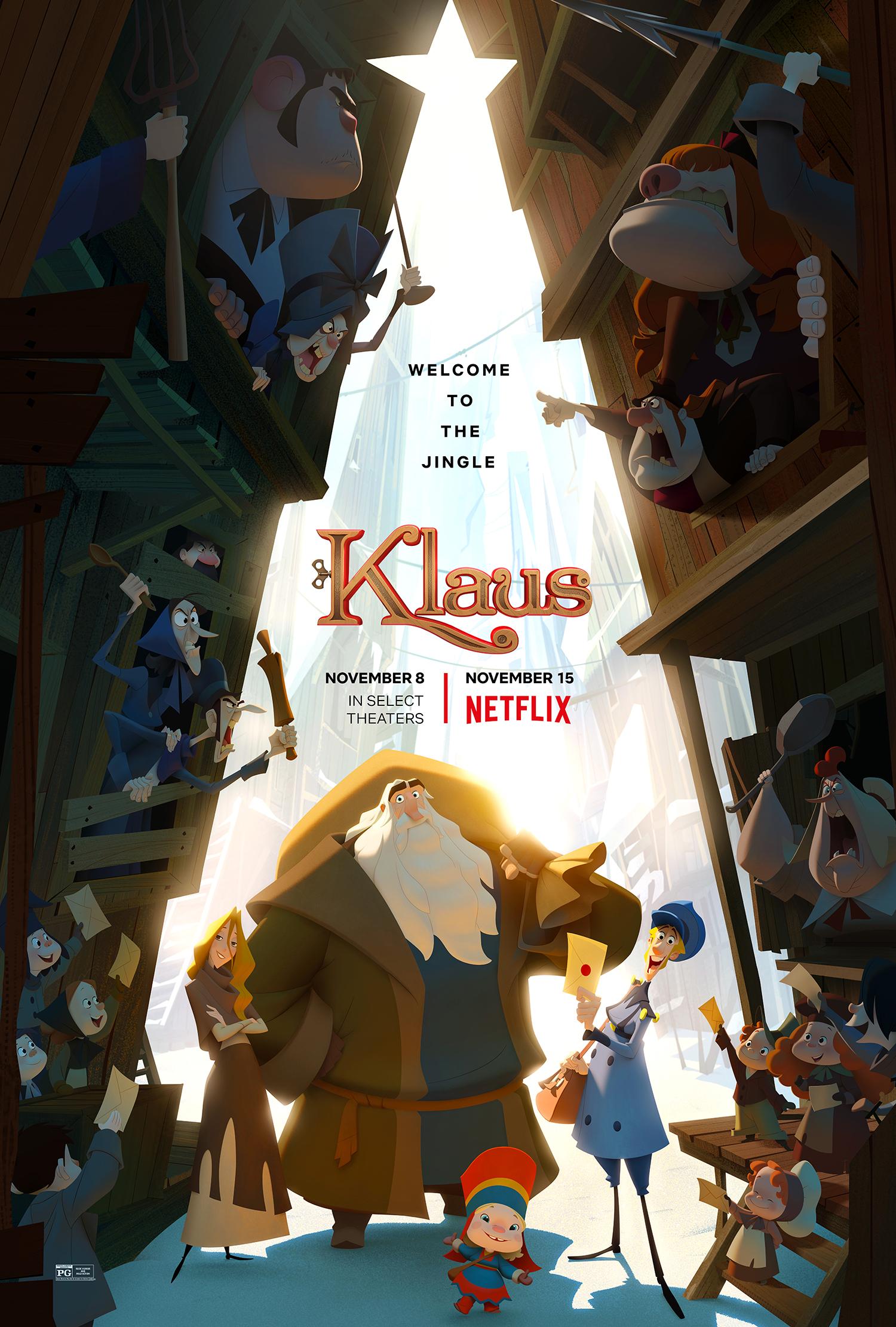 รีวิวเรื่อง KLAUS (2019)